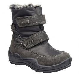 26591e275 Recenzia Geox Dievčenské svietiace zimné topánky New Gulp - šedé