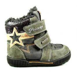 18e5eda64e1d4 Recenzia Primigi Dievčenské zimné topánky s hviezdou - šedé
