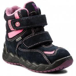 e7c3b4581905e Primigi Dievčenské zimné topánky - modro-ružové