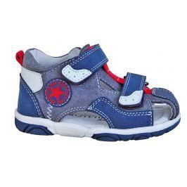 800aa621d825 Detail tovaru · Protetika Chlapčenské sandále Madrid - šedo-modré