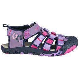 68d5c380359c Detail tovaru · ALPINE PRO Dievčenské sandále Jim - fialovo-ružové