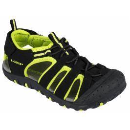 0ff4e348d7bf Detail tovaru · LOAP Detské sandále Dope - čierno-zelené