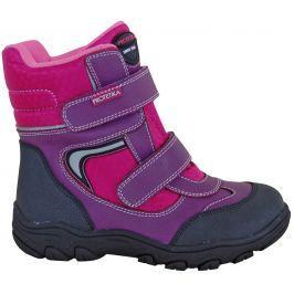 9e333b6fe74d Detail tovaru · Protetika Dievčenské členkové zateplené topánky Nordik -  ružovo-fialové
