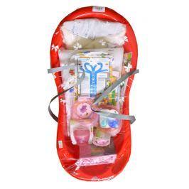 Cosing Štartovacia súprava pre novorodencov 13-dielna - červená