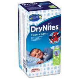 Huggies DryNites nohavičkové plienky pre chlapcov 4-7 rokov (17-30kg), 10ks