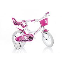 Dino Bikes Dievčenský bicykel Hello Kitty 14