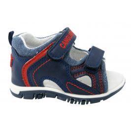 6c6a0736ca83 Detail tovaru · Canguro Chlapčenské celokožené sandále - modré