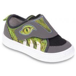 4749ecc30 Detail tovaru · Befado Chlapčenské tenisky s krokodílom Funny - zeleno-šedé