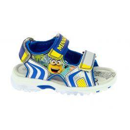 b020a6a10966 Detail tovaru · Disney by Arnetta Chlapčenské sandále Mimoni - modro-žlté