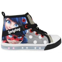 c8970298a4f9e Detail tovaru · Disney Brand Dievčenské blikacie tenisky Ladybug - šedé