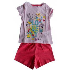 ba11783efa45 Detail tovaru · Carodel Dievčenské set tričko s potlačou a kraťásky- ružový