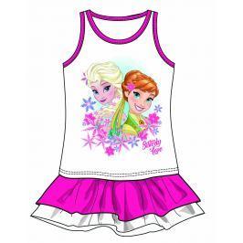 48b1cfd745ad Disney by Arnetta Dievčenské šaty Frozen - ružové