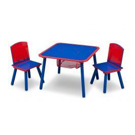 afb29a1c5d16 Recenzia Delta Detská stolička so stolčekom Autá