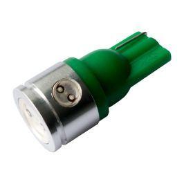LED auto žiarovka T10/W5W zelená Ceramic