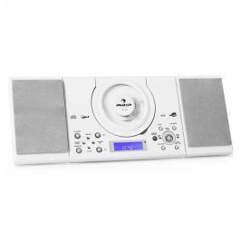 Stereo zariadenie Auna MC-120, MP3/CD prehrávač, USB, biele