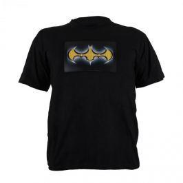 Summary Dvojfarebné LED tričko, design Batman, veľkosť L