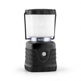 Yukatana Yorion, čierna, 600 Lúmenov, 150 h, 15 m, kempingová lampa, LED, akumulátor, hranatá