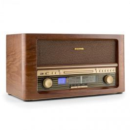 Auna Belle Epoque 1906, retro stereo systém, CD, USB, MP3, AUX, FM/AM