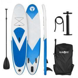 Klarfit Spreestar, nafukovací paddleboard, SUP-Board-Set, 300x10x71 cm, modro-biela farba