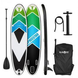 Klarfit Spreestar 325, nafukovací paddleboard, SUP set, 325 x 15 x 86, čierno-modrý