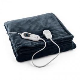 Klarstein Dr. Watson XL výhrevná deka 120W, prateľná, 180x130cm, mikroplyš, modr