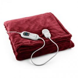 Klarstein Dr. Watson XL výhrevná deka 120W, prateľná, 180x130cm, mikroplyš, bord