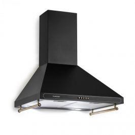 Klarstein Victoria, digestor, retro dizajn, 600m³/h, 2 LED lampy, čierna farba
