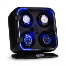 Klarstein Clover, pohyblivý stojan na hodinky, 4 hodiniek, 3 otáčania, 4 rýchlosti, LED