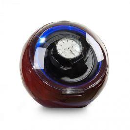 Klarstein St. Gallen Deux, pohyblivý stojan na hodinky, 1 hodinky, 4 režimy, modré LED svetlo, palisandrový vzhľad