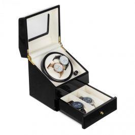 Klarstein Geneva, pohyblivý stojan na hodinky, 2 hodiniek, 4 režimy, zásuvka, čierny