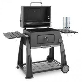 Klarstein Bigfoot Set gril na drevené uhlie BBQ smoker + elektrický zapaľovač