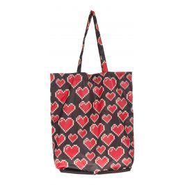 Love Moschino Taška Čierna Červená