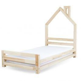 24dfed08ac0f Recenzia Detská posteľ z lakovaného borovicového dreva Benlemi Wally ...