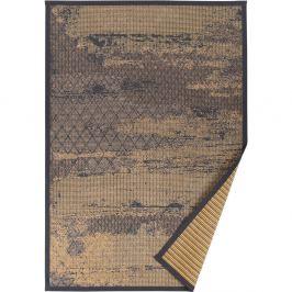 Béžový vzorovaný obojstranný koberec Narma Nehatu, 160x230cm