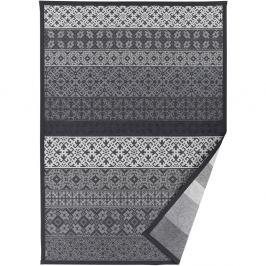 Sivý vzorovaný obojstranný koberec Narma Tidriku, 70x140cm