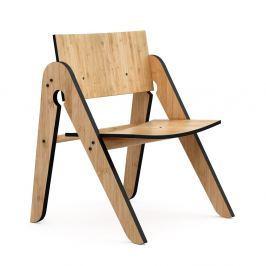 ae93acbb6248 ... detských stoličiek Mobi furniture Mario. 54 €. Detail tovaru · Detská  stolička z bambusu Moso s čiernymi detailmi We Do Wood Lilly  s
