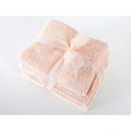 Set 2 uterákov a 2 osušiek z prémiovej bavlny New