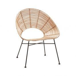3e759ff769dd Detail tovaru · Prírodná ratanová stolička Hübsch Aslog
