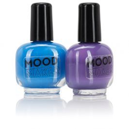 Sada 2 lakov na nechty NPW Beauty Junky Colour Changing Polish Purple