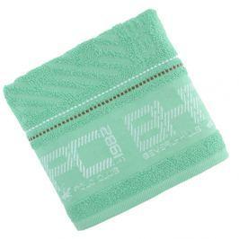 Zelený uterák Beverly Hills Polo Club Logan, 50×100cm