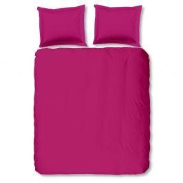 Ružové bavlnené obliečky Muller Textiels Uni, 240×200cm