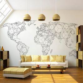 Veľkoformátová tapeta Artgeist Geometry World, 300×231 cm