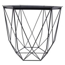 99fa85d625512 Detail tovaru · Čierny kovový záhradný stolík Ewax Web, ⌀ 39 cm