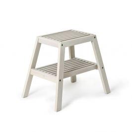 8ea82076f12d Detail tovaru · Sivá stolička z dubového dreva Wireworks Slatted Stool