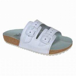 e1c86acb8e2c Recenzia Sandále rehabilitačné č.25 ortopedická obuv T09 K2 BIELA