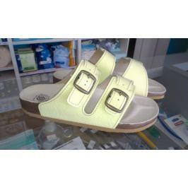1dd7d3b2f48b9 Recenzia Sandále rehabilitačné č.25 ortopedická obuv T09 K2 BIELA