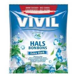 Vivil Extra silný mentol + vitamín C 60g