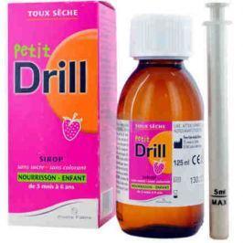 PETIT DRILL Sirup na suchý kašel pre dojčatá 125ml