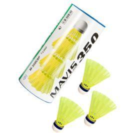 Bedmintonové košíky Yonex Mavis 350 Yellow (dóza po 3 ks)