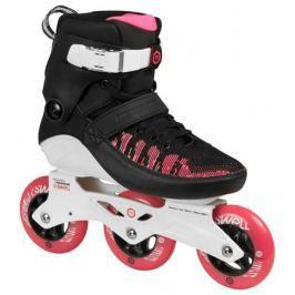 65043788d6f07 Recenzia Kolieskové korčule Powerslide Swell 100 Brink Pink